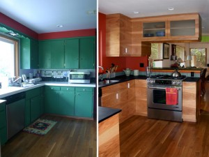 Rambo kitchen before and after
